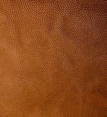 £2.20 • Buy Tan Brown Leather Remnants 2.5mm Full Grain Aniline Soft Cowhide Various Sizes