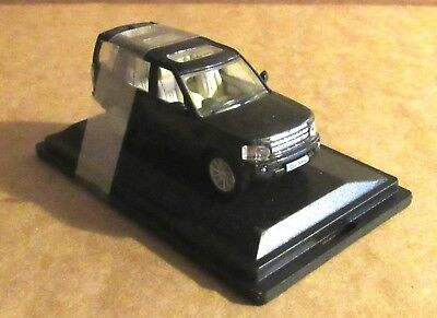 Oxford Diecast Land Rover Discovery 4 Baltic Blue 1:76 Scale Model Car Vehicle • 7.30£