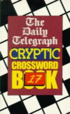 £28.99 • Buy Daily Telegraph  Cryptic Crossword Book: No... By Telegraph Group Limi Paperback