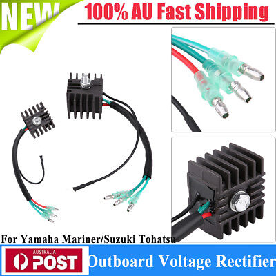AU22.72 • Buy For Yamaha Outboard Motor Voltage Regulator Rectifier Replacement  Plug & Play