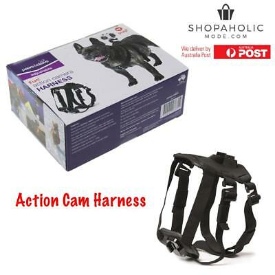 AU31.95 • Buy Pet Dog Harness Chest Mount Accessories Kit For GoPro HERO Action Cam Cameras