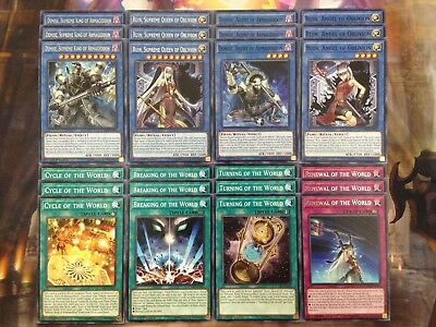 AU21.40 • Buy Yugioh Ritual 24 Card Deck Core Demise Supreme King Of Armageddon Ruin Queen NM