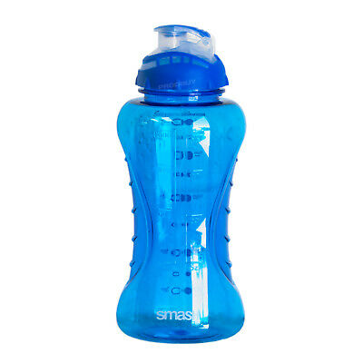 Large 1 Litre Strong Water Drinks Bottle BPA Free Plastic Travel Gym Sports Blue • 11.99£