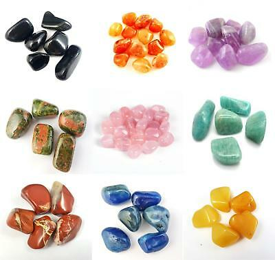 Chakra Healing Crystals Best Tumble Stone Healing Crystals Reiki Stones 20-30mm • 1.99£