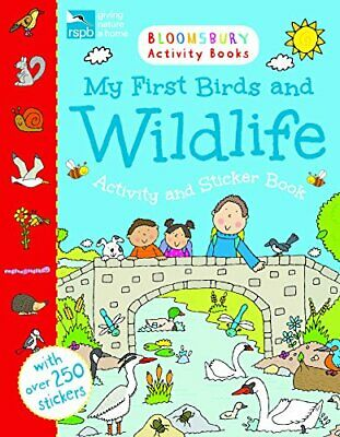 RSPB My First Birds And Wildlife Activity And Sticker Book (Chameleons) Book The • 5.99£