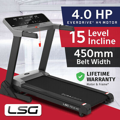AU559 • Buy Lifespan Focus 450mm Belt Electric Auto Incline Treadmill Quiet EverDrive® Moto