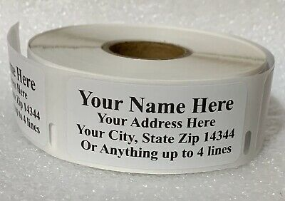 $13.99 • Buy Quality-Made Personalized Address Roll Labels 450pcs For Ur Mailing Convenience