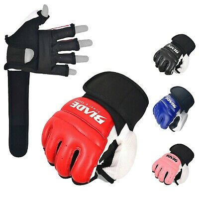 $ CDN13.71 • Buy Blade® Leather MMA Martial Arts Gloves Training Boxing Body Combat Punch Bag