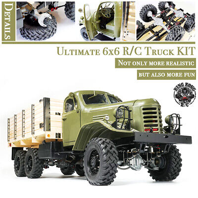 AU559.46 • Buy Kingkong RC 1/12 Scale CA30/ZISL-151 6x6 Soviet Truck With Metal Chassis KIT Set