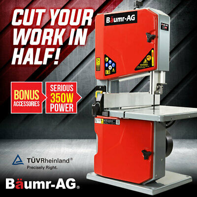AU182 • Buy Baumr-AG Bandsaw Cutting Band Saw Portable Wood Vertical Benchtop Machine Bench