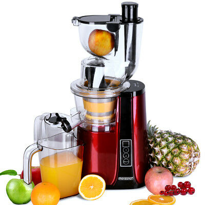 Monzana Slow Juicer Masticating 1.8L Cold Press Extractor Reverse Mode 500W • 69.95£