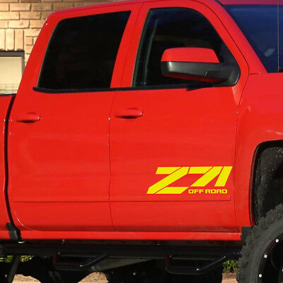 $27.99 • Buy Z71 4X4 Off Road Truck Symbol Graphic For Car Automotive Decal Vinyl Sticker