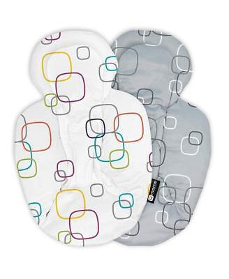AU91.38 • Buy 4moms MamaRoo Reversible Newborn Insert, White Grey