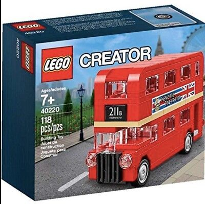 $ CDN28.07 • Buy LEGO Creator Double Decker London Bus 40220 - New.