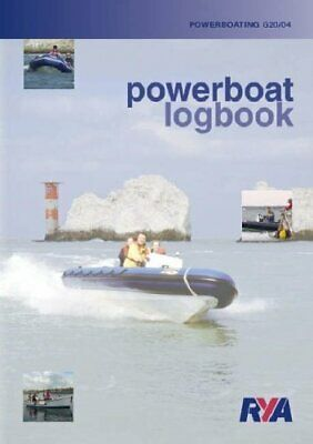 RYA Powerboat Syllabus And Log Book By Royal Yachting Association Paperback The • 5.99£