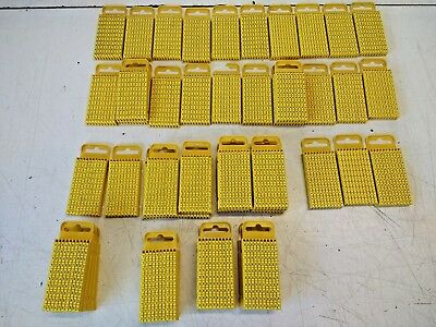 £3 • Buy Hellermann Tyton WIC3 Cable Markers Size 3, YELLOW, Packs Of 100 Of Each Type