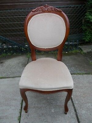 4 Dining Room Chairs Furniture French Italian Shabby Chic Perfect For A Project • 99£