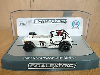 SCALEXTRIC C3723A Caterham Superlight R300S Championship Ltd Edition Of ONLY 250 • 38.50£