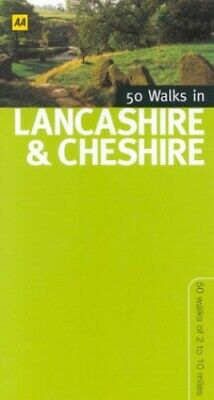 50 Walks In Lancashire & Cheshire Paperback Book The Cheap Fast Free Post • 3.99£