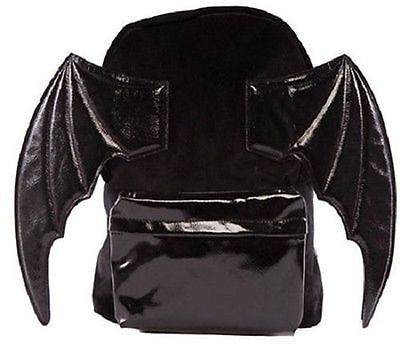 Iron Fist Night Stalker Bat Pack Wings Spooky Flying Punk Rock Goth Bag Backpack • 57.07£