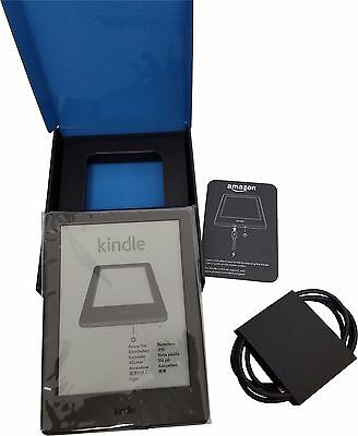 AU149.38 • Buy Amazon Kindle 6  EReader 4GB Wi-Fi Touch Black Glare-Free 8th Gen 2016 Release