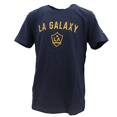 LA Galaxy Official MLS Adidas Kids Youth Size Distressed T-Shirt New With Tags • 9.37£