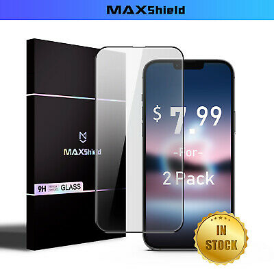 AU8.99 • Buy 2X For IPhone 11 Pro Max X XS MAX XR Full Cover Tempered Glass Screen Protector