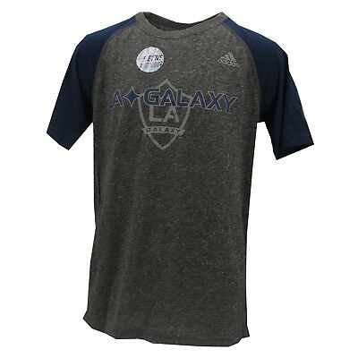 LA Galaxy Official MLS Adidas Kids Youth Size Reflective Athletic Shirt New Tags • 10.82£