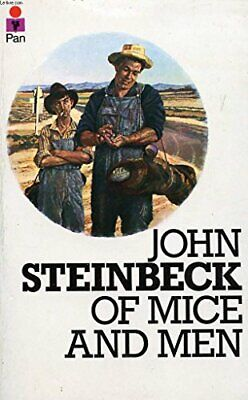 Of Mice And Men By Steinbeck, John Paperback Book The Cheap Fast Free Post • 5.59£