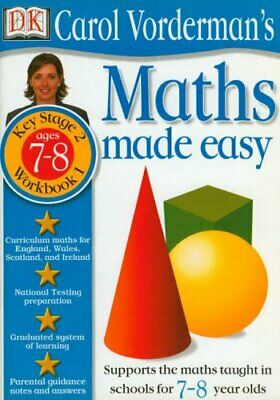 £6.99 • Buy Maths Made Easy: Age 7-8 Book 1 (Maths Made Eas... By Vorderman, Carol Paperback