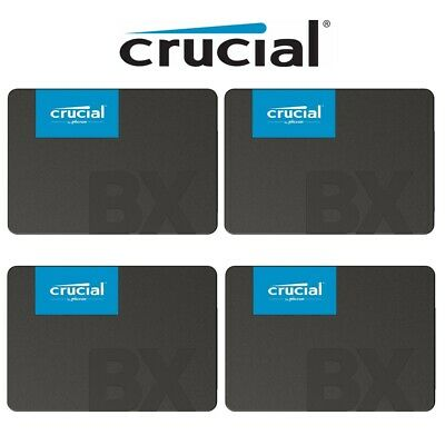 AU46.95 • Buy SSD 120GB 240GB 480GB Crucial BX500 Solid State Drive 2.5  SATA III 540MB/s New
