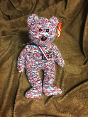 $130 • Buy Rare TY Beanie Baby USA 2000 Edition Bear