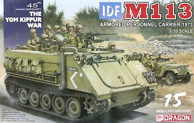 $65.95 • Buy Dragon 1/35 3608 IDF M113 Armored Personnel Carrier 1973 (The Yom Kippur War)