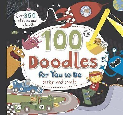 £5.49 • Buy 100 Doodles For You To Do: Design And Create Book The Cheap Fast Free Post