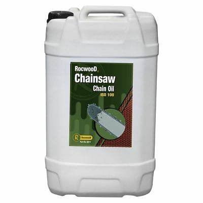£43.95 • Buy Chainsaw Chain Oil Saw 25L Litres RocwooD For Guide Bar Pump All Makes Of Saw