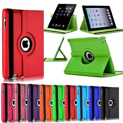 £5.29 • Buy Premium IPad 2nd 3rd 4th Generation 360 Rotating Leather Stand Case Cover Wallet