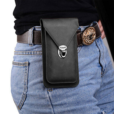 $ CDN15.55 • Buy Premium PU Leather Phone Case Cover Flip Wallet Bag Holster Pouch With Belt Clip