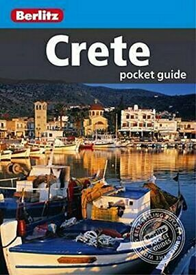 Berlitz Pocket Guide Crete (Berlitz Pocket Guides) By Berlitz Book The Cheap • 5.99£