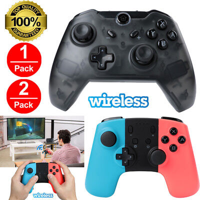 $25.71 • Buy 2 Pack Wireless Pro Controller Gamepad Joypad Remote For Nintendo Switch Console