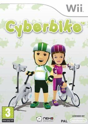 Cyberbike Cycling Sports - Game Only (Nintendo Wii) - Game  ZOVG The Cheap Fast • 13.21£