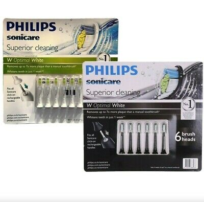 AU51.79 • Buy 6 Pack Philips Sonicare Diamond Clean Replacement Electric Toothbrush Heads 2021