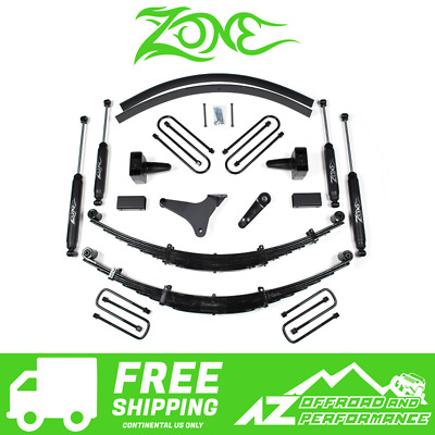 $1023.23 • Buy Zone Offroad 6  Suspension System Lift Kit For 99-04 Ford F250 F350 Super Duty