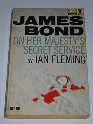 On Her Majesty's Secret Service By Fleming, Ian Paperback Book The Cheap Fast • 5.49£