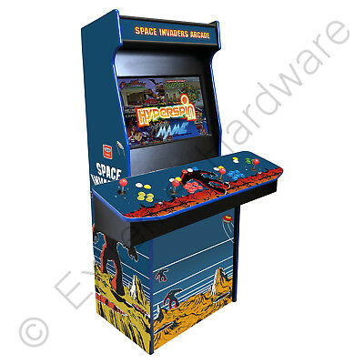 £1499 • Buy BitCade 4 Player Cerberus 27  Space Invaders Arcade Machine Cabinet HyperSpin