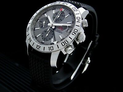 Chopard Mille Miglia GMT Grey Dial. Mint Condition With Box And Papers • 4,750£
