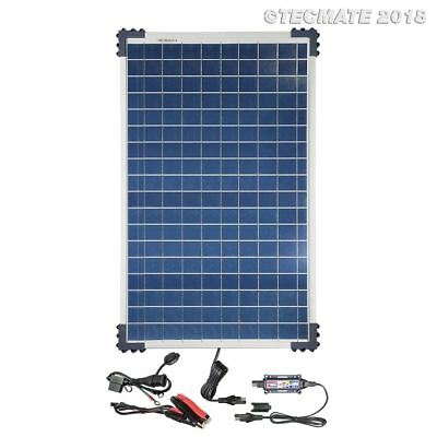 Optimate Solar With 40 Watt Solar Panel TM523-4 Battery Charge & Monitor System • 176.95£