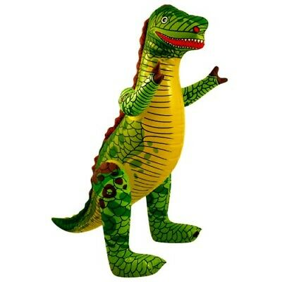 INFLATABLE DINOSAUR Blow Up Toy Large Animal Inflate Party Decoration Fancydress • 3.49£