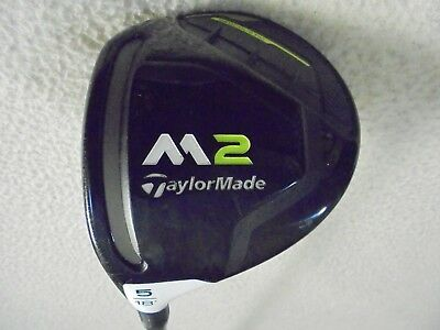 $ CDN174 • Buy 2017 LH - TaylorMade M2 5/18* Wood W/REAX 55 Regular Graphite Shaft