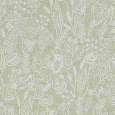 Clarke And Clarke Westleton Sage Cotton PVC WIPE CLEAN Tablecloth Oilcloth • 6.99£