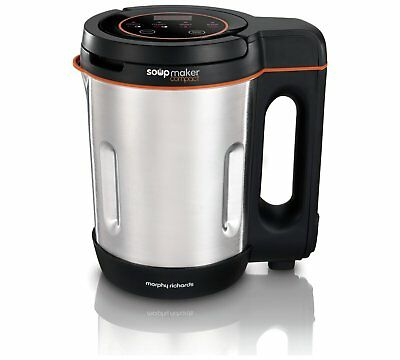 Morphy Richards 501021 Compact Soup Maker Blender Stainless Steel 1 Litre 1000W • 33.99£